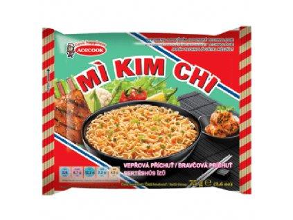 Acecook Mi Kim Chi Instantní Nudlová Polévka Vepřová 75g VNM