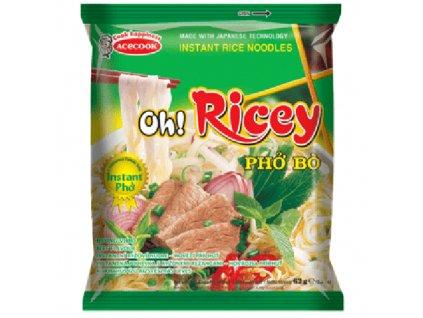 Acecook Oh Ricey Pho Bo Instantní Nudlová Polévka Hovězí 53g VNM