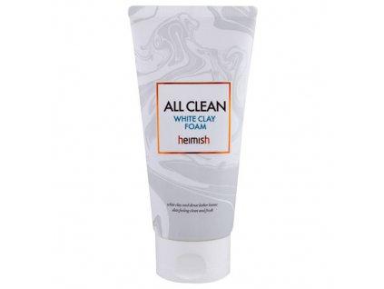 Heimish All Clean White Clay Foam Mini Hypoalergenní Čistící Pěna Z Bílého Jílu 30ml KOR
