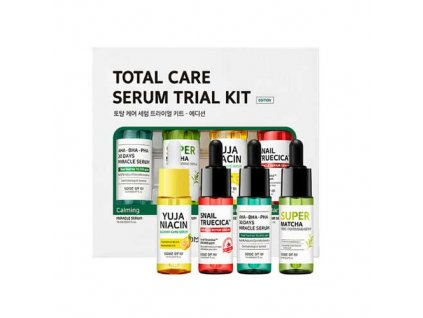SOME BY MI Total Care Serum Trial Kit Sada Sér Pro Kompletní Péči 147g KOR