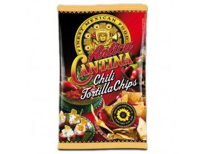 Antica Cantina Čili Tortilla Chipsy 200g DK