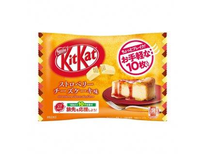 Kitkat Mini Strawberry Cheesecake Balení 99g JAP