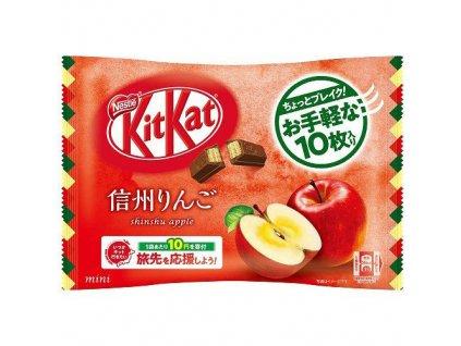 Kitkat Mini Shinshu Apple Balení 99g JAP