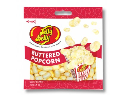 jelly belly buttered popcorn jelly beans 70g 525x600