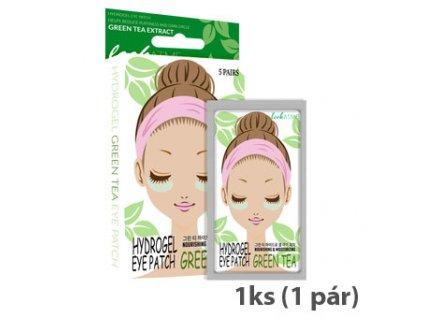 LookATME Hydro Gel Eye Patch Green Tea Hydrogelové Pásky Pod Oči S Výtažky Zeleného Čaje 1 Pár KOR