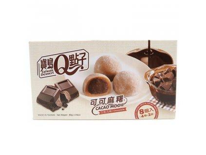 Q Brand Mochi Rýžové Koláčky Kakao Čokoláda 80g TWN