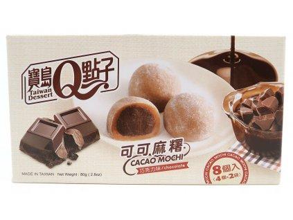 Kakaové mochi rýžové koláčky čokoláda - PEPIS.SHOP