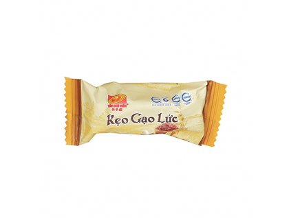 Keo Gao Luc Hat Dieu Brown Rice Cashew Candy 1ks 7g VNM