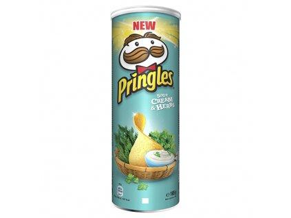 Pringles Sour Cream & Herbs 165g EU