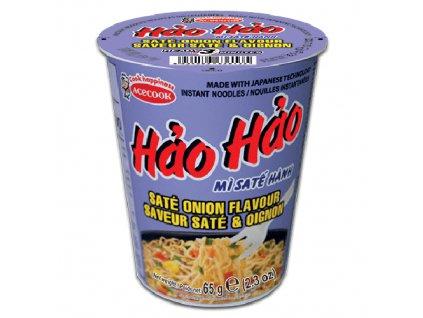 Acecook Hao Hao Cibule Sate Instantní Nudlová Polévka V Kelímku 65g VNM