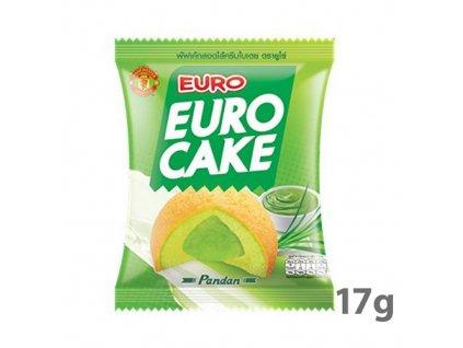 Euro Cake S Příchutí Pandanu 1ks 17g THA