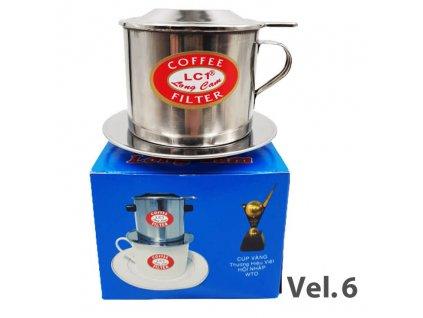 Long Cam Kávový Filtr Velikost č.6