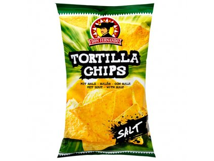 Tortilla chips with salt 200g Image 1 Zoom image