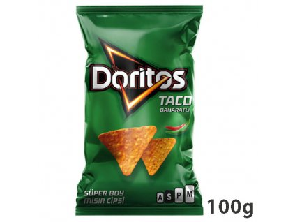Doritos Taco Flavoured 100g PL