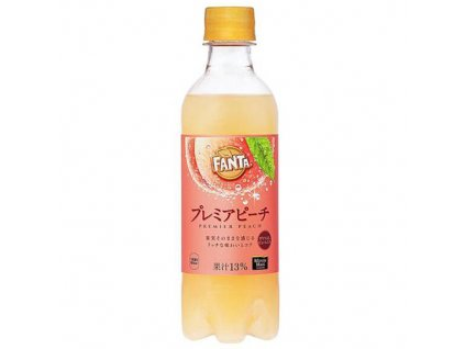 05 05 2021 Fanta Japan Exclusive Premium Broskev 380ml JAP