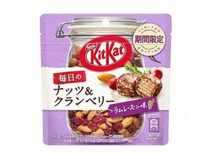 01 09 2021 KitKat Kousky Brusinky Mandle A Rumové Rozinky 35g JAP