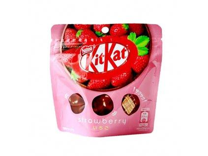 20 09 2021 KitKat Jahodové Kousky 35g JAP