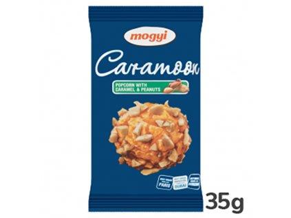 24 02 2022 Mogyi Mini Caramoon Popcorn Karamelový S Oříšky 35g HUN