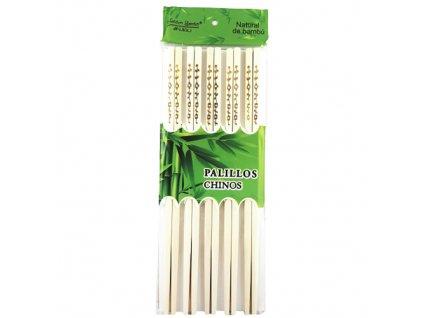 Bambusové Hůlky Dekorativní 10 párů CHN