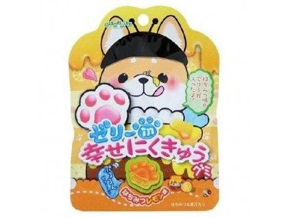 Senjaku Cat & Dog Paw Puni Fuwa Jelly Gummies Honey Lemon Náhodné Balení 30g JAP 2