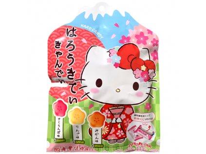 Hello Kitty Tropical Hard Candy Bonbóny 65g JAP