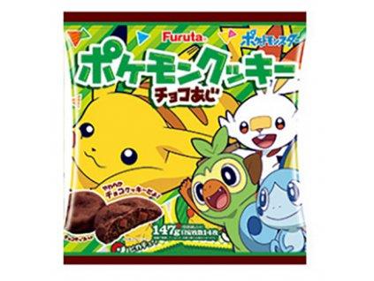 Pokemon Čokoládové Sušenky BAlení Vel.L 147g JAP
