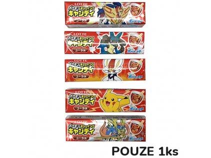 Pokémon Chewing Gum Žvýkačky Náhodný Druh 1ks JAP