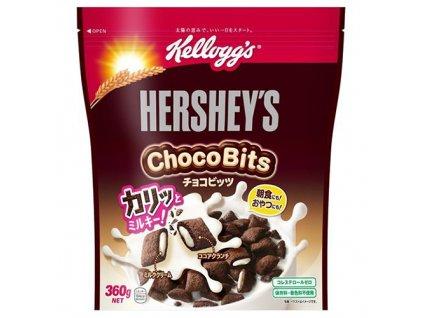 Hershey's Cereálie Choco Bits 360g JAP