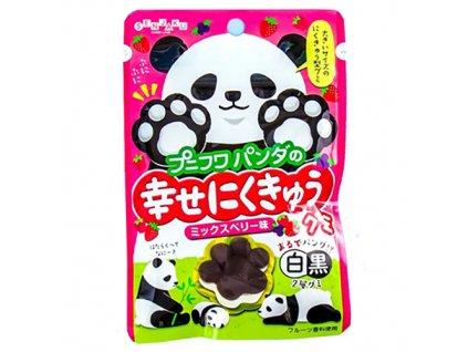 PUNI FUWA Gumové Bonbóny Mix Berry Panda 32g JAP