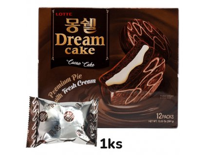 Lotte Dream Cake Cacao S Krémém 1ks 32g KOR