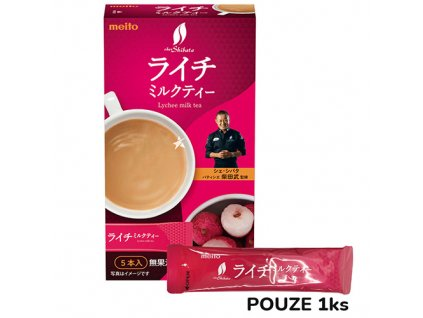 Meito Lychee Milk Tea Premix 1ks 12g JAP