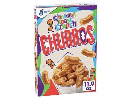 Cinnamon Toast Crunch Churros Snidaňové Cereálie 337g USA