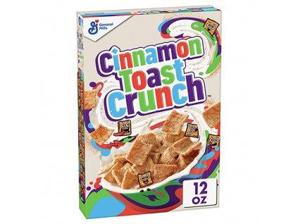 Cinnamon Toast Crunch Snidaňové Cereálie 340g USA