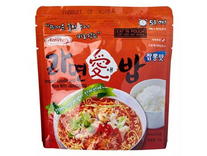 Easybab Instant Noodle And Rice With Jjamppong 110g KOR