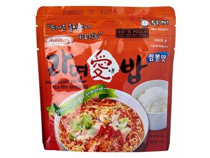 Easybab Instant Noodle And Rice With Jjamppong 110g KOR