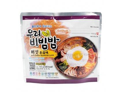 Easybab Woori Bibimbap Mushroom Flavour 100g KOR