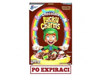 Lucky Charms Chocolate Snídaňové Cereálie 311g USA