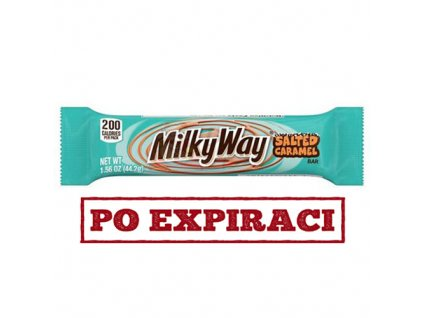 Milky Way Salted Caramel Tyčinka 44,2g USA