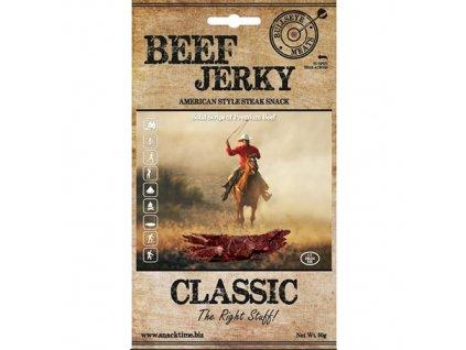 beef jerky suszona wolowina classic 50g