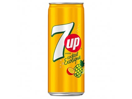 7UP Exotický Koktejl 330ml USA