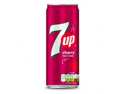 7UP Cherry 330ml USA