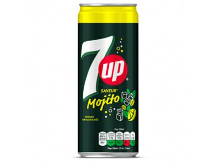 7UP Mojito 330ml USA