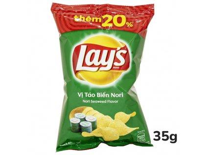 Lay's Mořské Řasy Nori 35g VNM