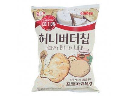 Haitai Potato Honey Butter Cheese Chip 60g KOR