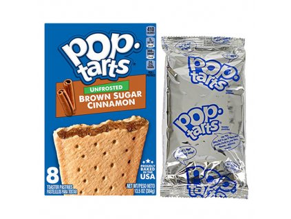 Pop Tarts Unfrosted Brown Sugar Cinnamon 1ks (2x48g) USA