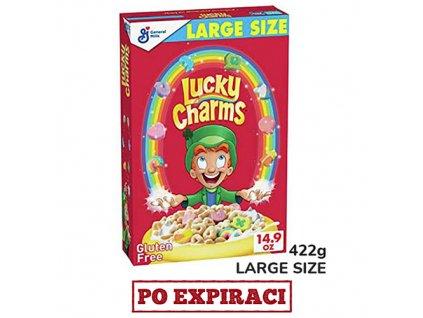 Lucky Charms Medové Kroužky Snídaňové Cereálie Velké Balení 422g USA