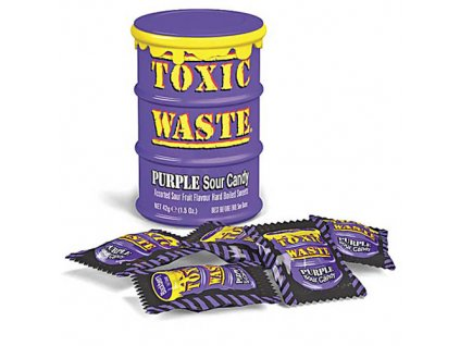 Toxic Waste Purple Sour Candy 42g UK