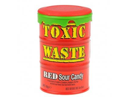Toxic Waste Red Kyselé Bonbóny 42g UK