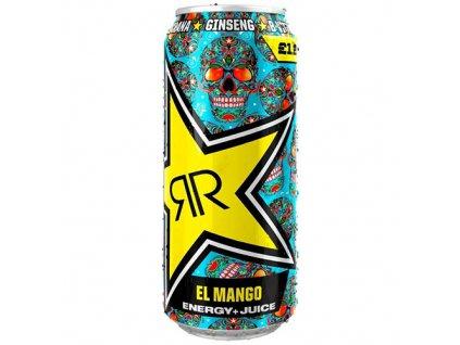 Rockstar Energy Drink Mango 500ml POL