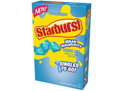 Starburst Blue Raspberry Drink (6ks 13.5g) USA